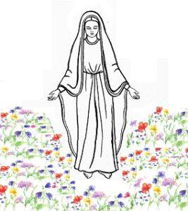Maryja, kwiaty