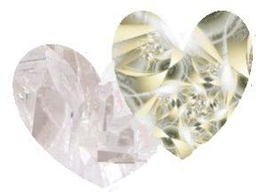 kryształowe serce