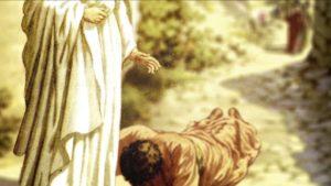 Jezus uzdrawia trędowatego