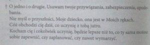 A. Lemczewska; Świadectwo