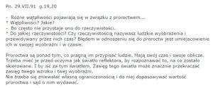 A. Lenczewska; Słowo pouczenia .