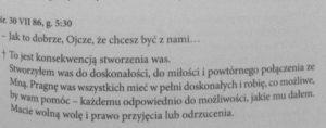 Świadectwo; A. Lenczewska
