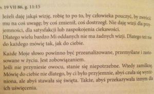 A. Lenczewska; Świadectwo