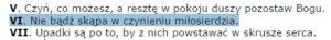 A. Lenczewska; Słowo Pouczenia