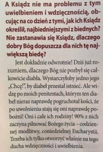"""Wywiad z egzorcystą ks. Zbigniewem Baranem; """"Któż jak Bóg""""."""